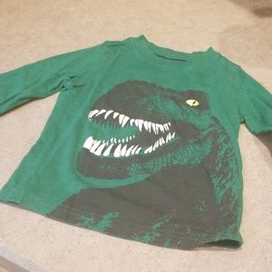 Dinosaur long sleeve tshirt
